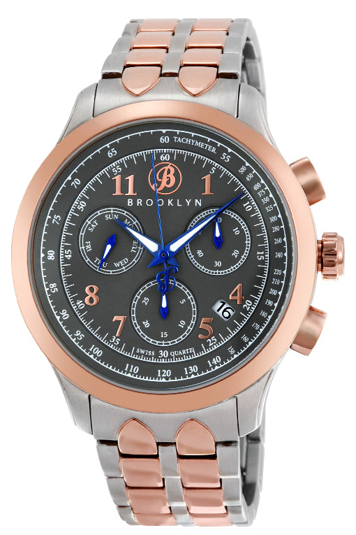 Brooklyn Prince Swiss Quartz Chronograph Mens Watch BW-204-M3862
