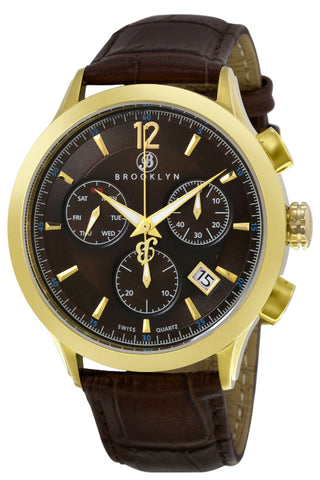 Brooklyn Dakota Swiss Quartz Chronograph Mens Watch BW-205-M2931