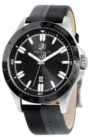 Brooklyn Florence Shaded Casual Swiss Quartz Mens Watch BW-301-M1221