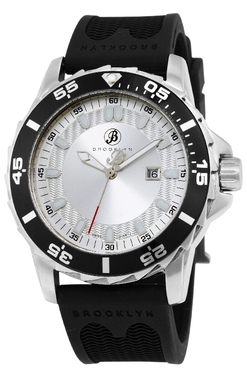 Brooklyn Waterbury Diver Swiss Quartz Mens Watch BW-302-M1123