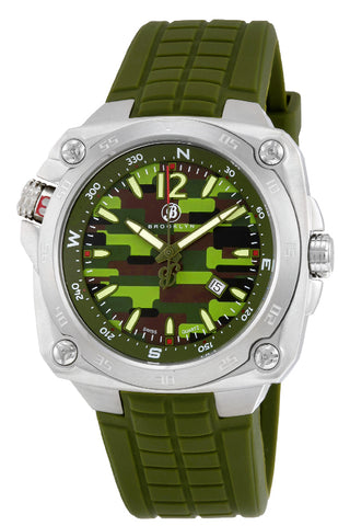 Brooklyn Alexander Army  Rugged Swiss Quartz Mens Watch BW-304-M11193