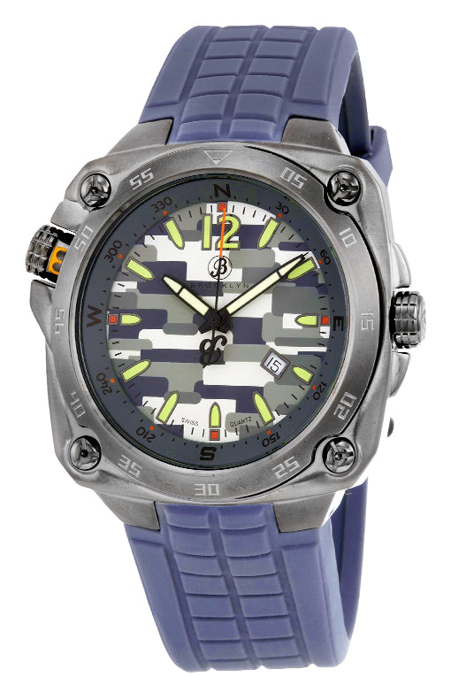 Brooklyn Alexander Army Rugged Swiss Quartz Mens Watch BW-304-M6883