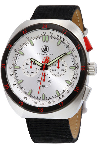 Brooklyn Floyd Canvas Army Swiss Quartz Mens Watch BW-305-M1124
