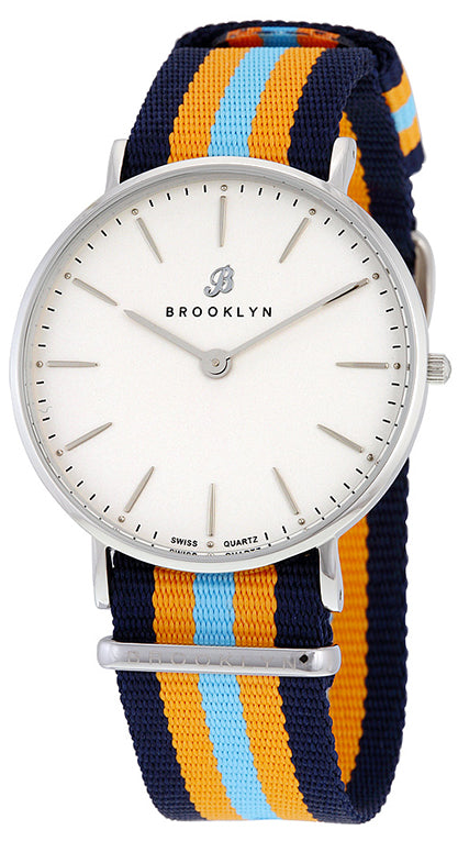 Brooklyn Flatland Casual Super Slim Swiss Quartz Slim Watch BW-104-U11144
