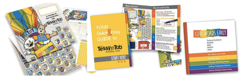 Poster, Stickers, Quick Start, Parent Guide