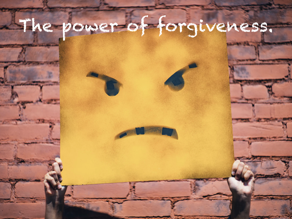Forgiveness in four steps