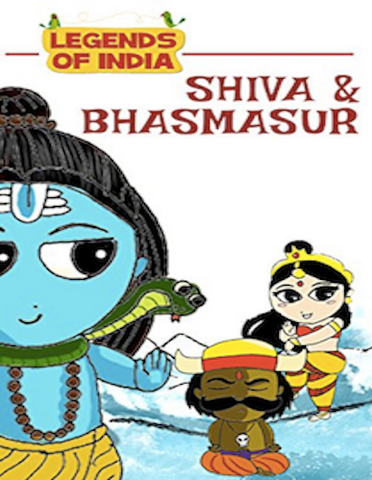 Legends of India - Shiva and Bhasmasur