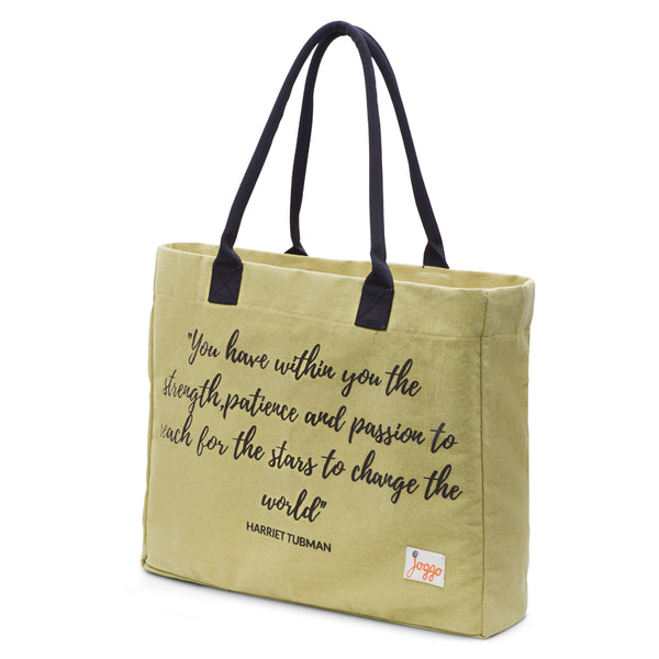 Inspiration Tote Bag - Olive Green