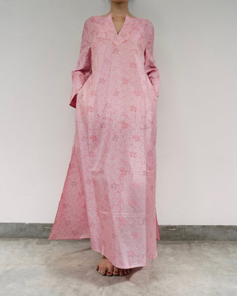 Cherry Blossom Silk Kaftan (Prices in AUD)