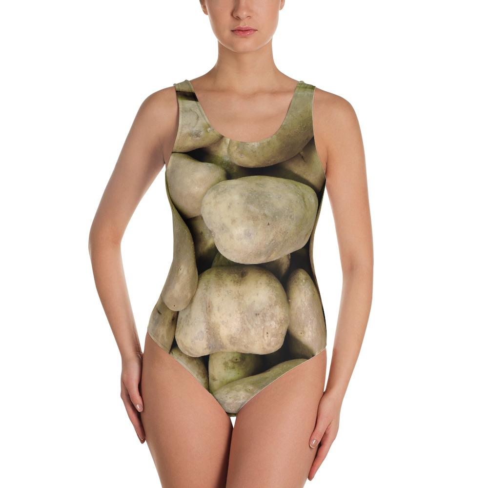 Potato Parcel Potato One-Piece Swimsuit XS