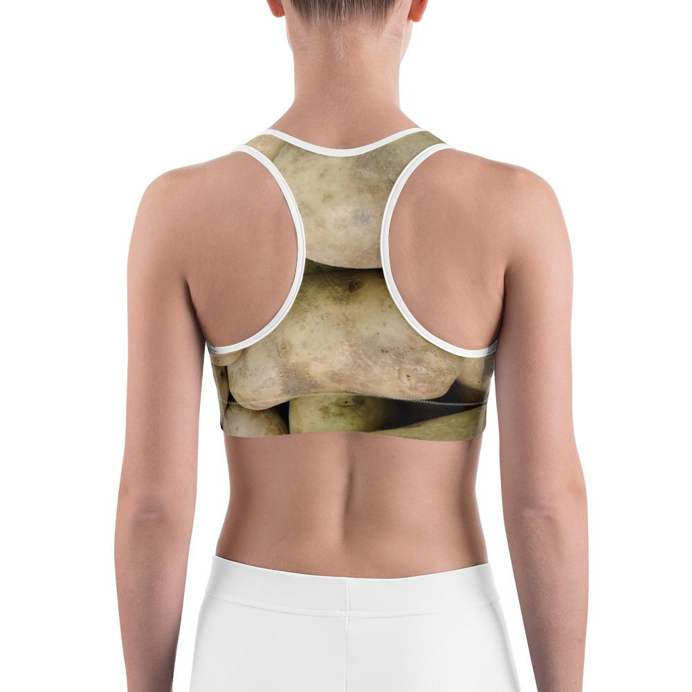 Potato Parcel Russet Potato Sports Bra