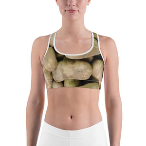 Potato Parcel Russet Potato Sports Bra XS