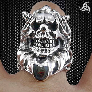 Biker And Skull Ring Collection At Sinister Silver Co.