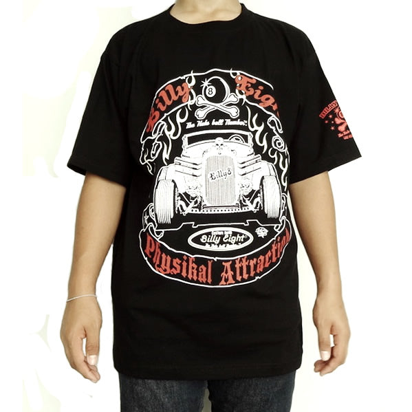 large mens vintage rat rod rockabilly black t shirt at apocalyptic fashion