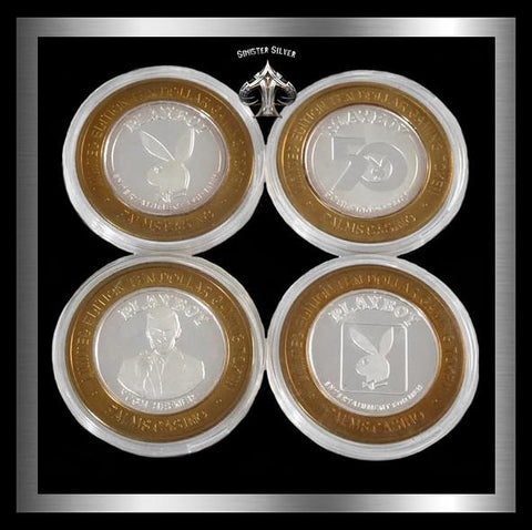 Palms RARE Playboy 50th Anniversary Casino Strike Set - Sinister Silver Co.