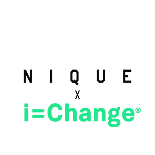 Nique donates to I=Change