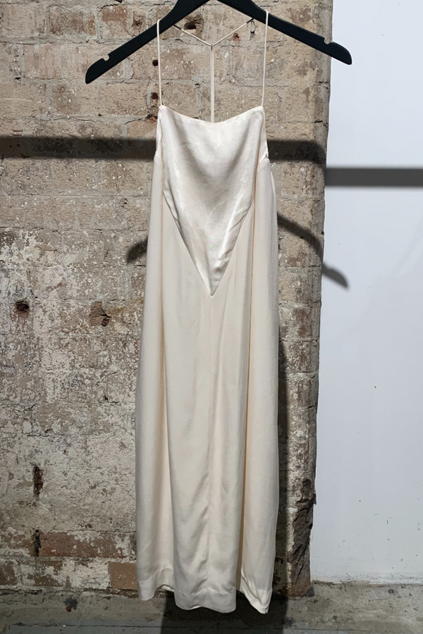 IVORY ESTELLE VISCOSE DRESS
