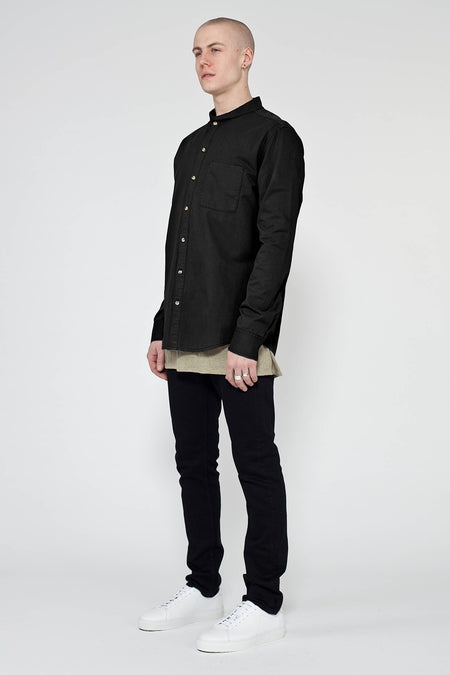 BLACK HUIS NEP SHIRT