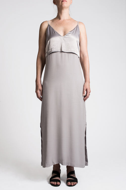 NEUTRA DRESS - SILVER