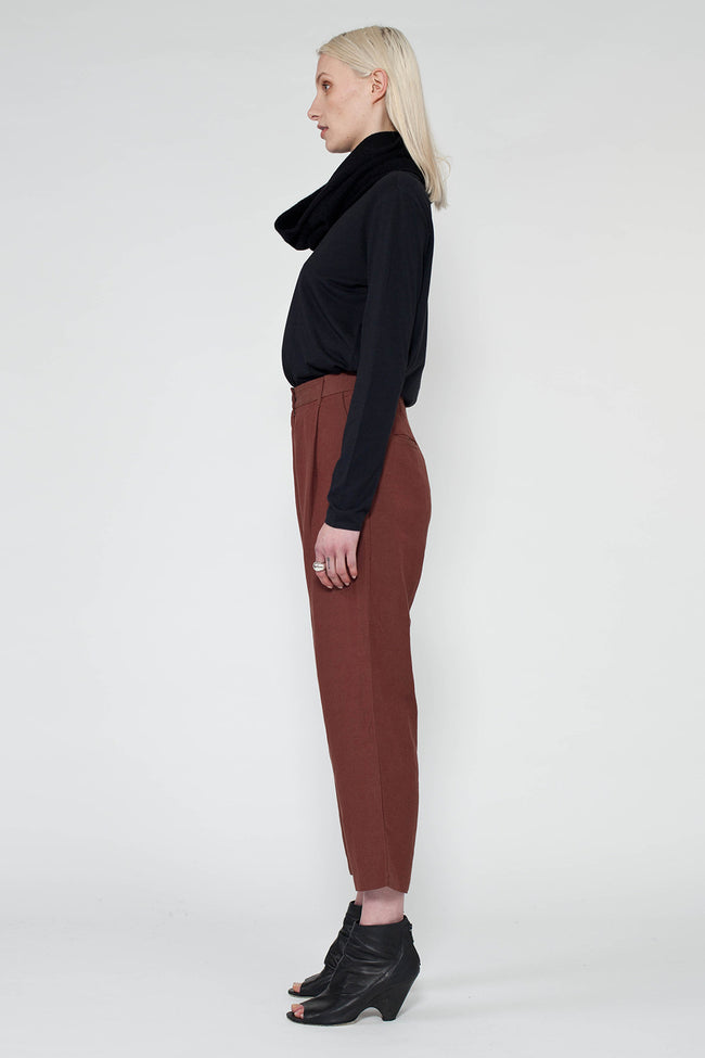 FLOAT PANT - RUST
