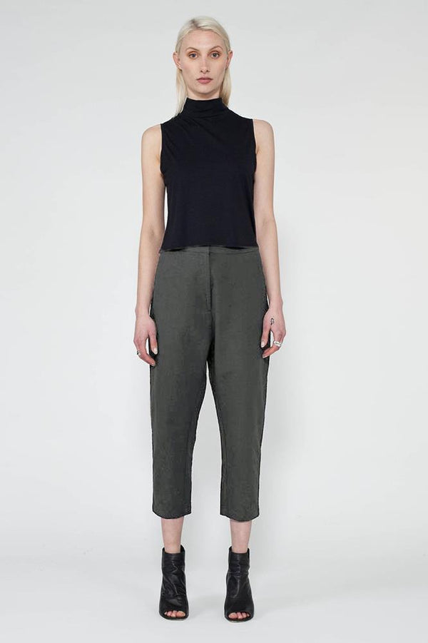 GREEN GEHRY PANT - Nique Clothing
