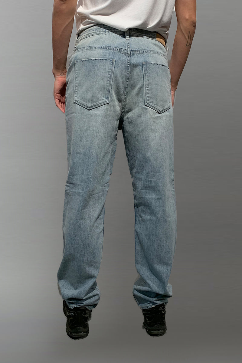 MENS RELAXED STRAIGHT DENIM JEAN