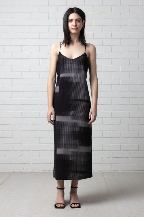 DREAM STATE MAXI SLIP DRESS
