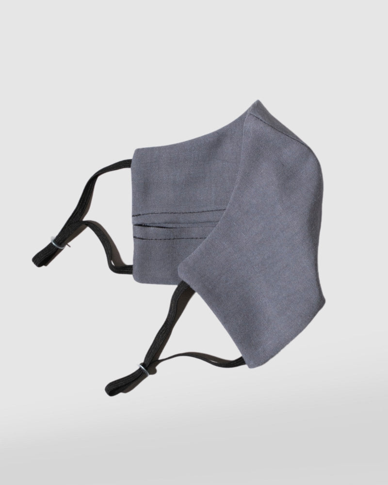 SLATE NIQUE x GLIESE (504) LINEN TENCEL FACE MASK - Nique Clothing