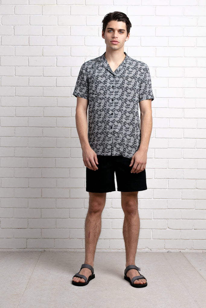 YUMURA PRINT REGULAR SHORT SLEEVE SHIRT
