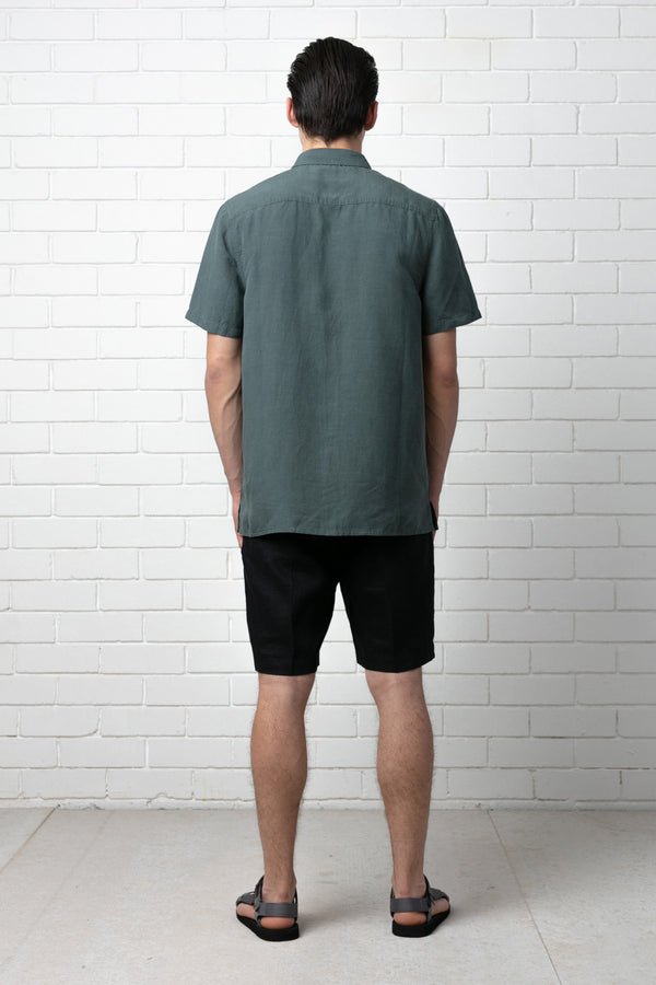 KENZAN RELAXED SHORT SLEEVE SHIRT