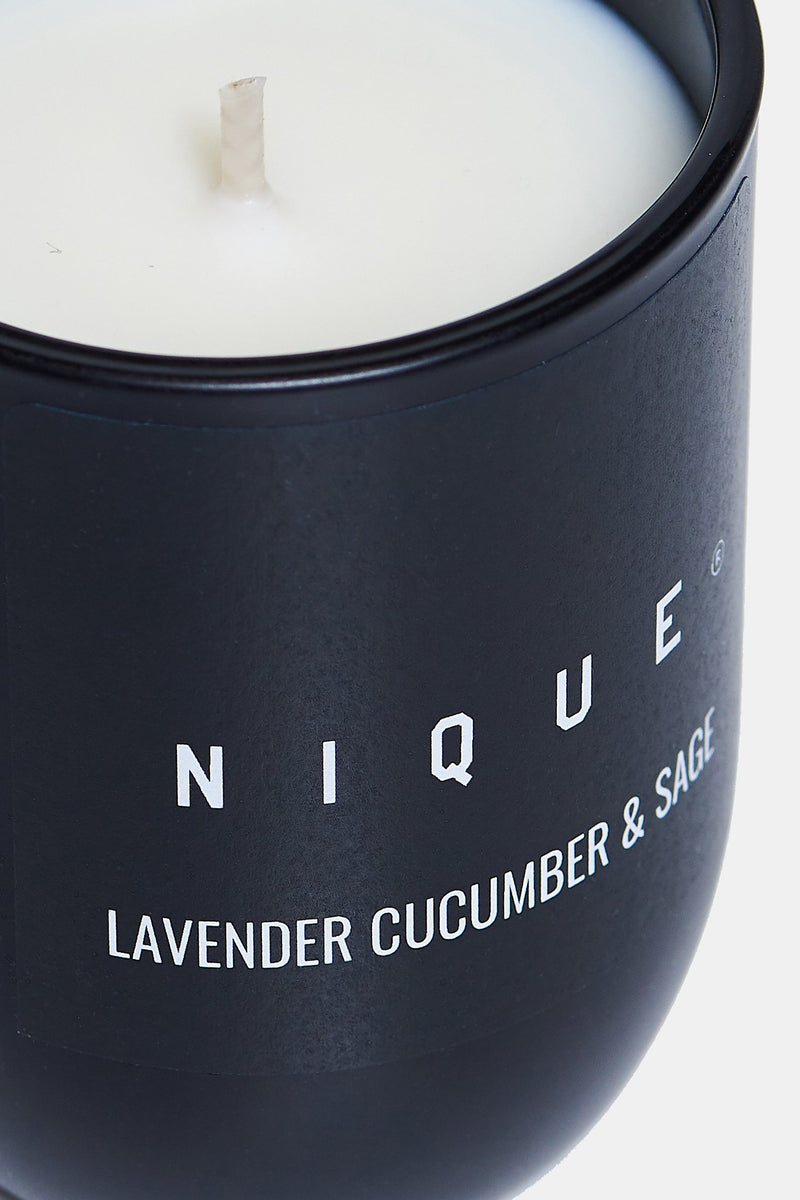 LAVENDER CUCUMBER AND SAGE SMALL CANDLE - Nique Clothing