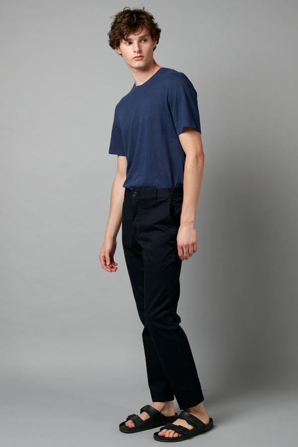 INK MIEKO RELAXED CHINO COTTON PANT
