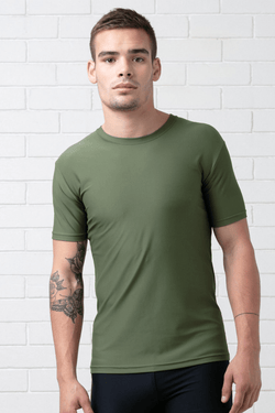 KHAKI SWIM TEE SPF 50 - Nique Clothing