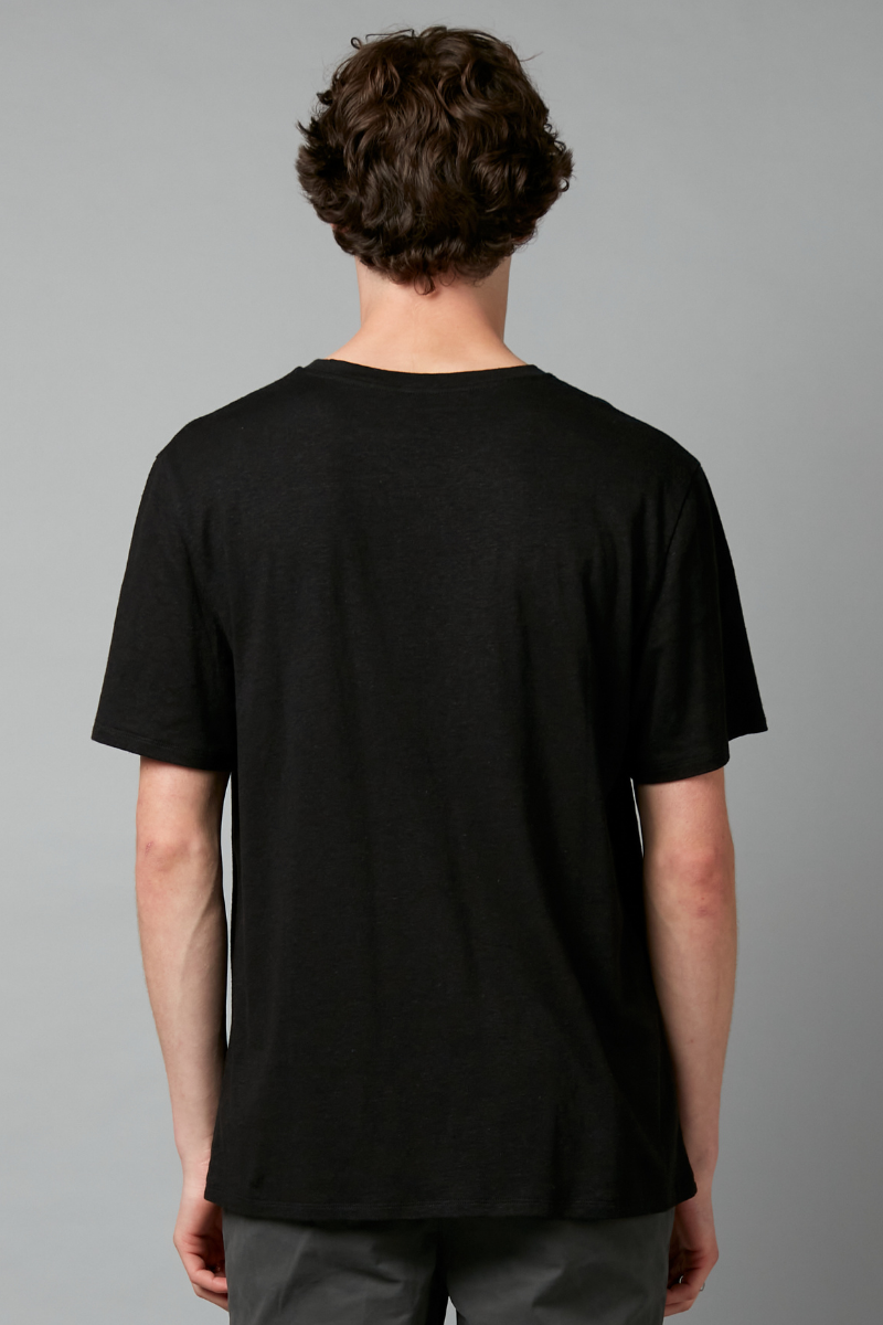 Black Baer Hemp Cotton Tee