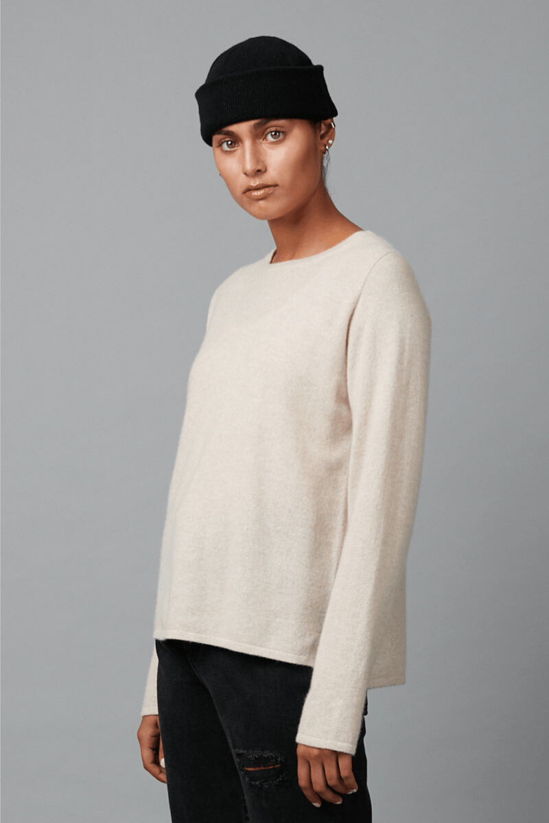 CAMEL HIDEKO CASHMERE KNIT - Nique Clothing