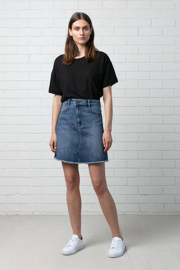 WOMENS MAKATO DENIM SKIRT