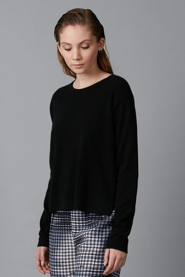 BLACK HIDEKO CASHMERE KNIT - Nique Clothing