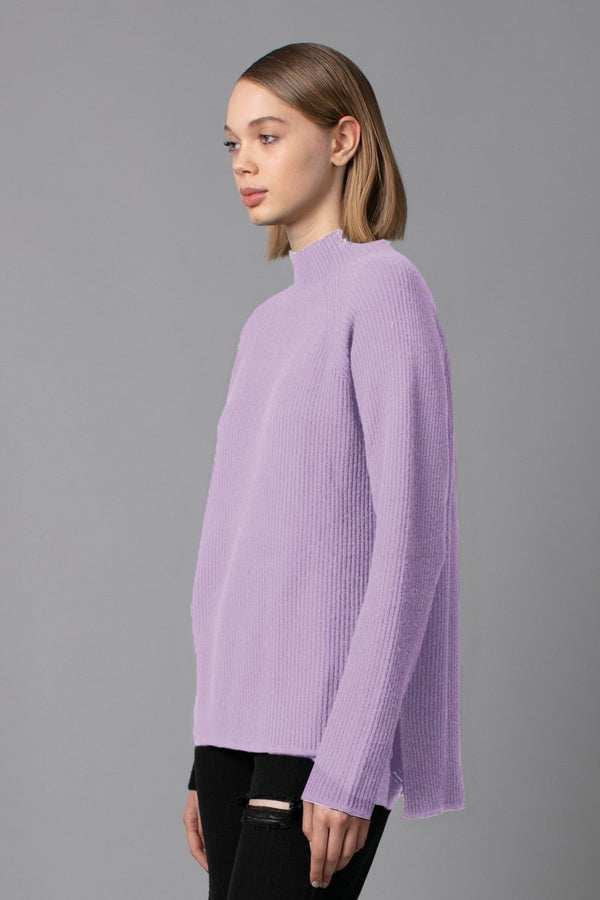 LILAC FUMINO MERINO KNIT - Nique Clothing