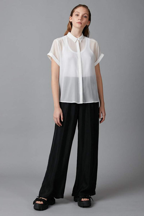 WHITE JINTO SHIRT