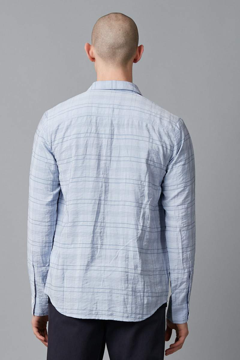 SMOKED LILAC REY SLIM LS SHIRT