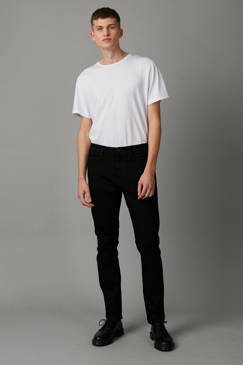 BLACK OIL SLICK AMSTERDAM DENIM JEAN