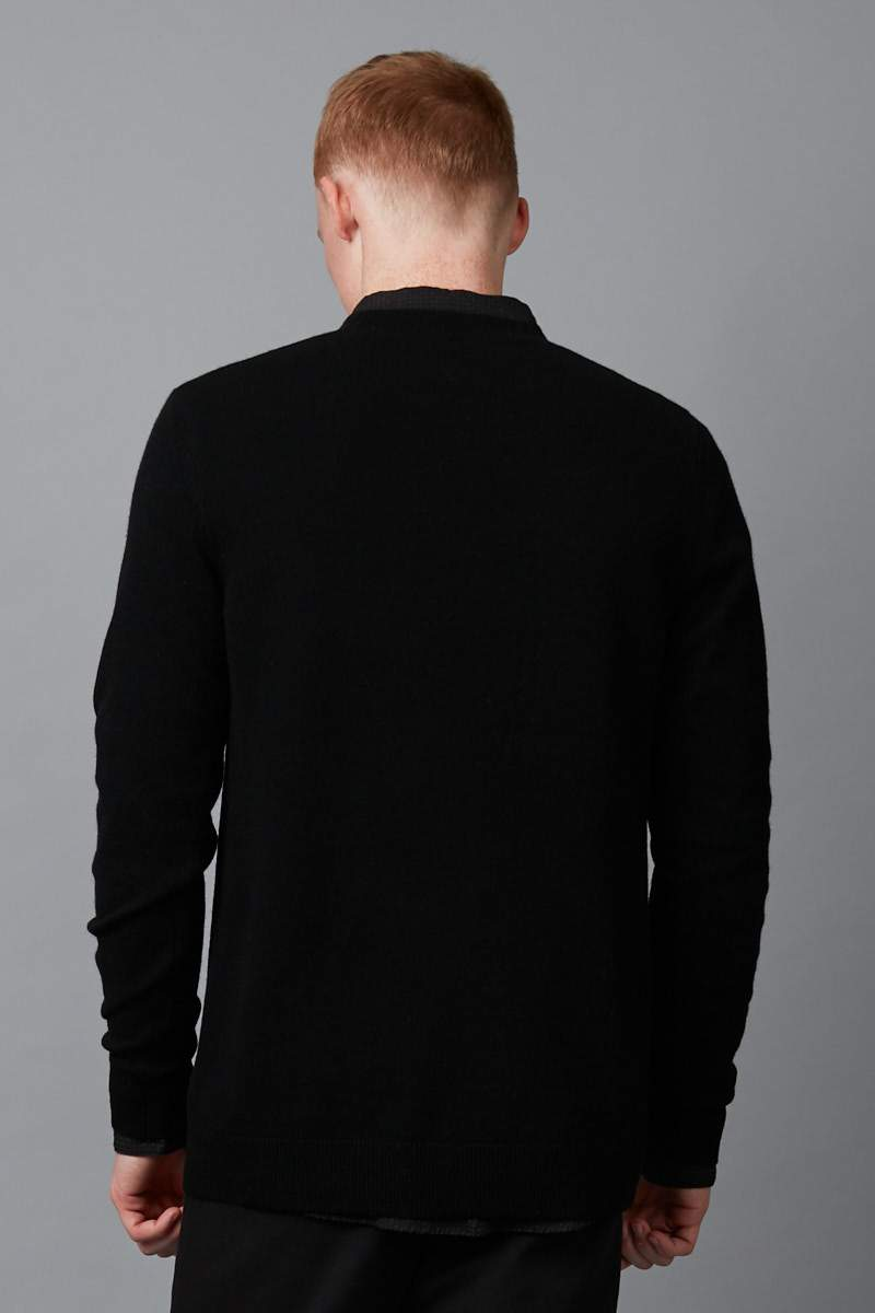 BLACK YOHJI CASHMERE KNIT