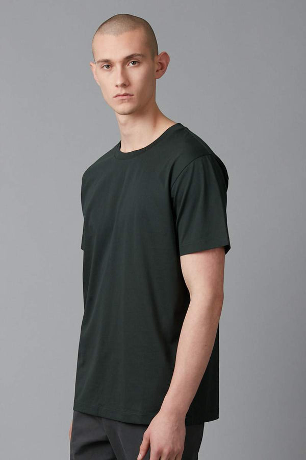 Deep Green Tait Bamboo Cotton Tee