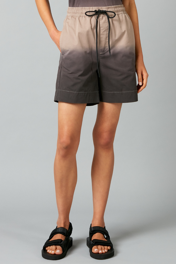 Unisex Dip Dye Toda Cotton Shorts