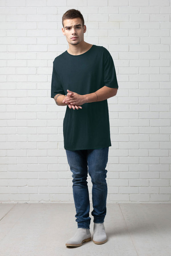 BAER GREEN HEMP COTTON TEE - Nique Clothing
