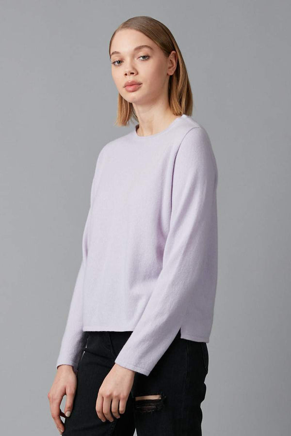 LILAC HIDEKO CASHMERE KNIT - Nique Clothing