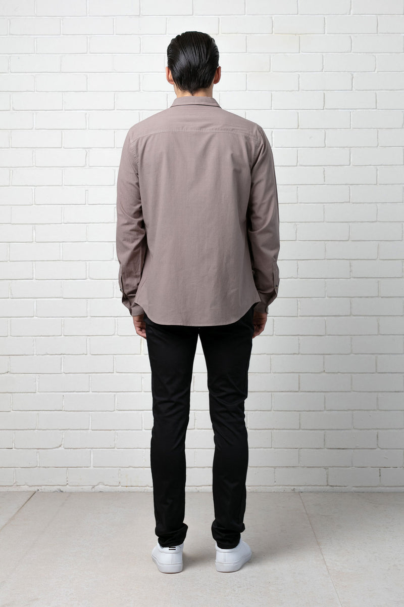 WALNUT HITASHI REGULAR SHIRT