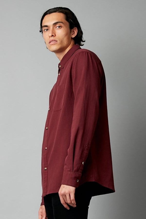 WINE JEEVA LONG SLEEVE SHIRT