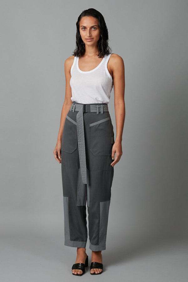 SMOKE BLUE SUUKO PANT