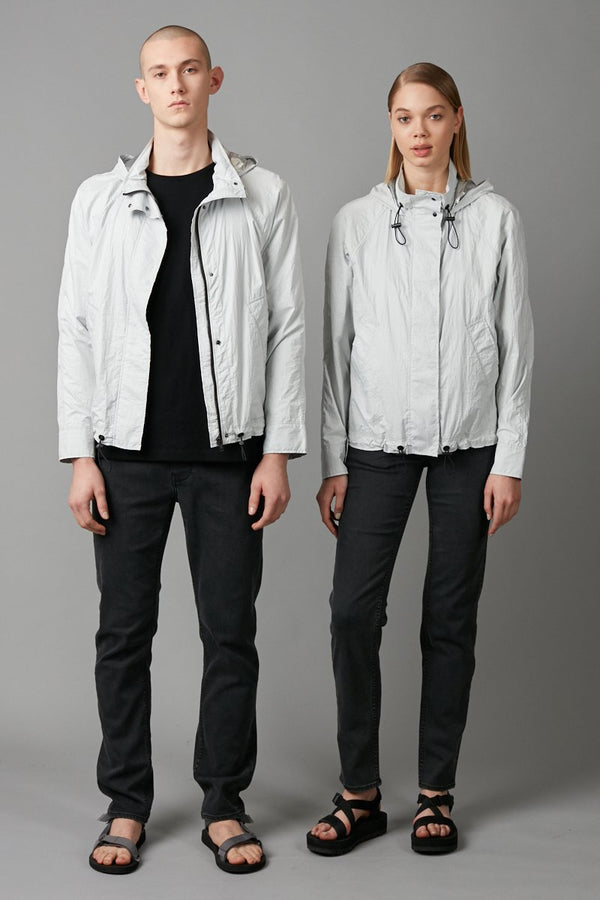 SILVER ANOKA UNISEX JACKET - Nique Clothing